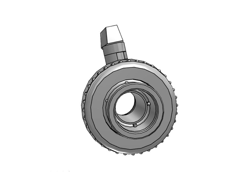 Kogelkraan type: eil 40x40mm dn32 pvc