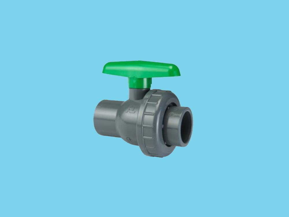Kogelkraan type: eil 63x63mm viton® dn50 pvc
