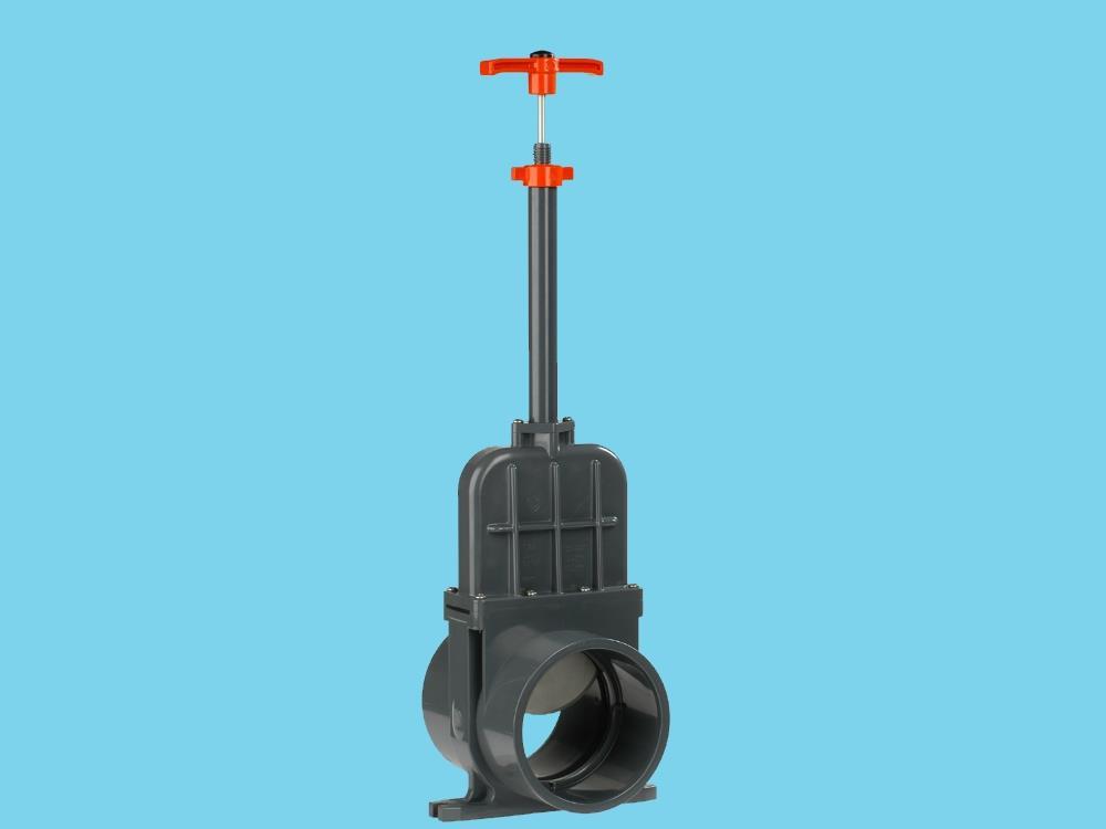 Schuifafsluiter dil 160 (rvs) verloop 2.000 mm