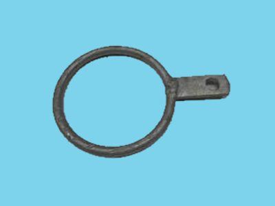 Ring enkel lip voor buis 76mm, 25 stuks