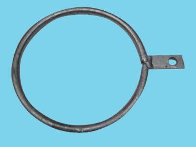 Ring enkel lip voor buis 168mm, 25 stuks