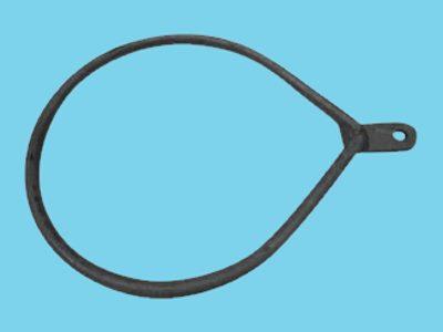 Ring enkel lip voor buis 219mm peermodel, 10 stuks