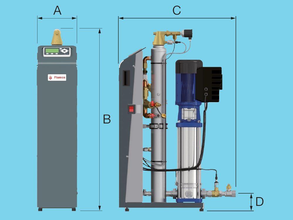 Flamco Vacumat Eco ontgassingsautomaat 300
