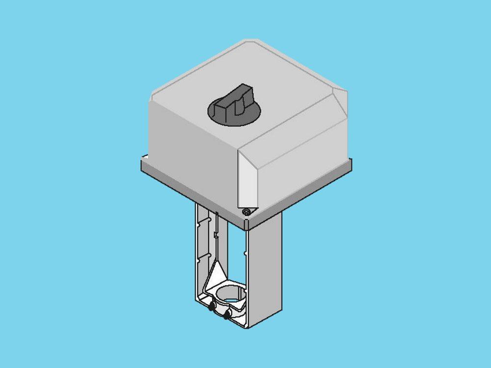 Printplaat servomotor Honeywell ML6421B3004 (100-150mm)