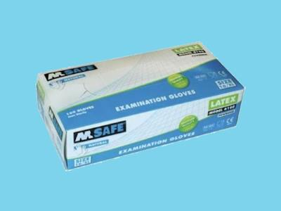 Handsch.M-safe 4160 latex  L  cat.1