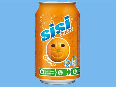 Sisi orange 33cl 24 blik