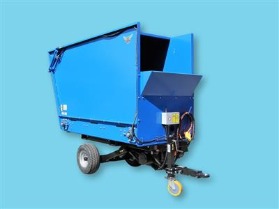 Hydraulische buffercontainer Bio Chopper Compact 3000 liter