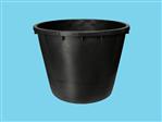 Boomkuip 350 liter zwart