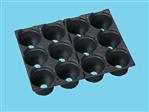 Teku tray TP 2836-9AZ/12-6 zwart 320 ds