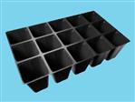 Teku kweekplaat PL 3050/15-1 zwart 105 ds