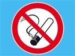 Sticker roken verboden K-VIN 90mm